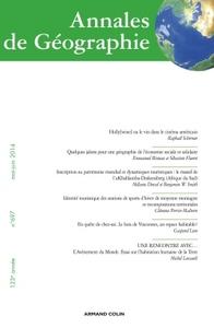 ANNALES DE GEOGRAPHIE N  697 (3/2014) VARIA