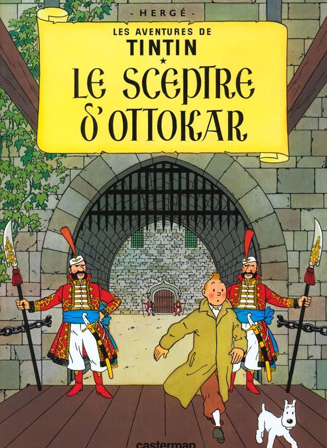 LE SCEPTRE D'OTTOKAR T8