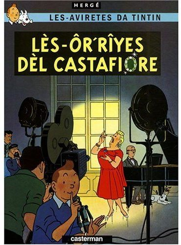 LES BIJOUX DE LA CASTAFIORE EN WALLON DE CHARLEROI