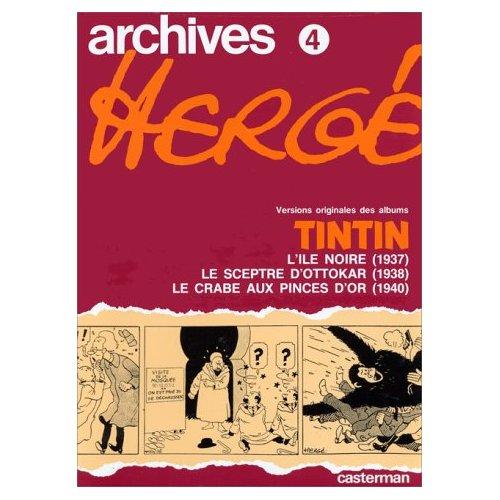 ARCHIVES 4 TINTIN