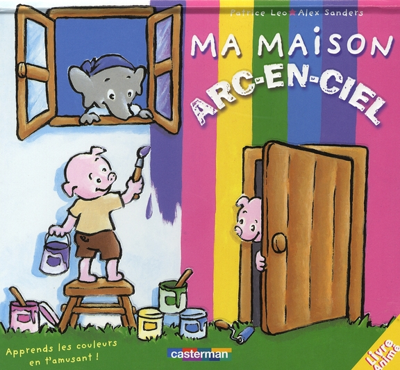 PETITS POPS T6 MA MAISON ARC-EN-CIEL