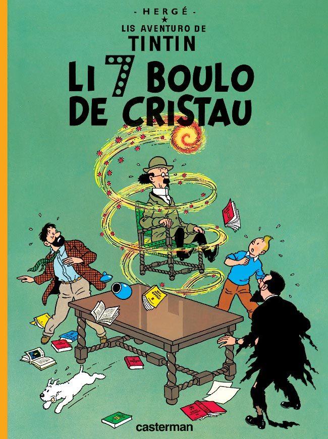 TINTIN - T13 - LES 7 BOULES DE CRISTAL - EN PROVENCAL