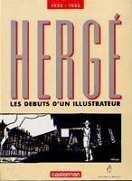HERGE DEBUTS D'UN ILLUSTRATEUR