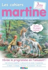 CAHIERS MARTINE MATERNELLE PETITE SECTION -3ANS