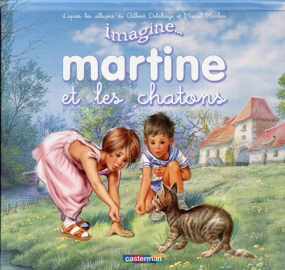 IMAGINE MARTINE ET LE CHATON