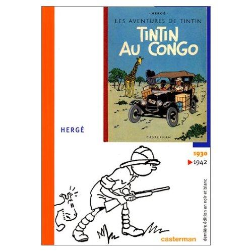 TINTIN AU CONGO FAC SIMILE