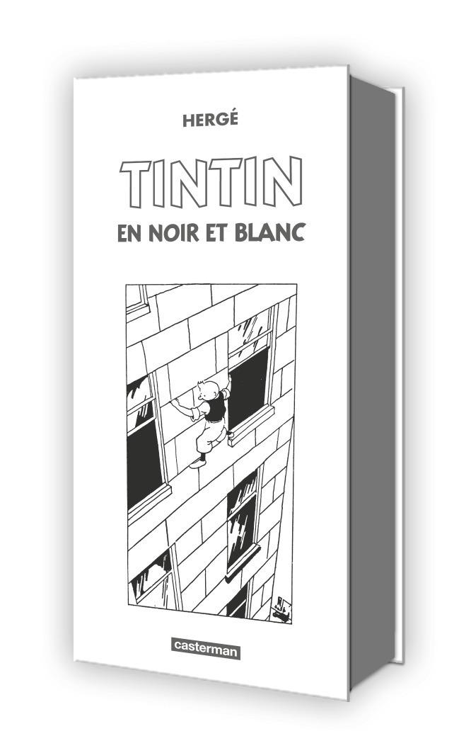 TINTIN, COFFRET MINI-ALBUMS NOIR ET BLANC