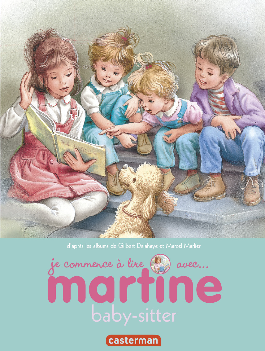 MARTINE BABY-SITTER - JE COMMENCE A LIRE AVEC MARTINE - T38