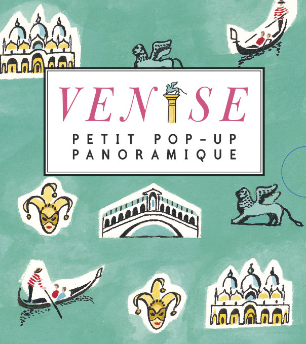 VENISE - PETIT POP-UP PANORAMIQUE