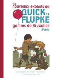FAC-SIMILES N&B - T02 - GAMINS DE BRUXELLES - LES NOUVEAUX EXPLOITS DE QUICK ET FLUPKE