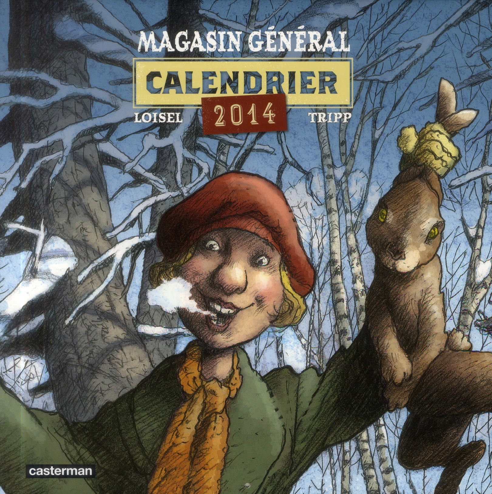 CALENDRIER MAGASIN GENERAL 2014