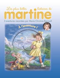 LIVRES CD - T20 - A L'AVENTURE ! - 3 AVENTURES RACONTEES PAR MARIE CHRISTINE BARRAULT