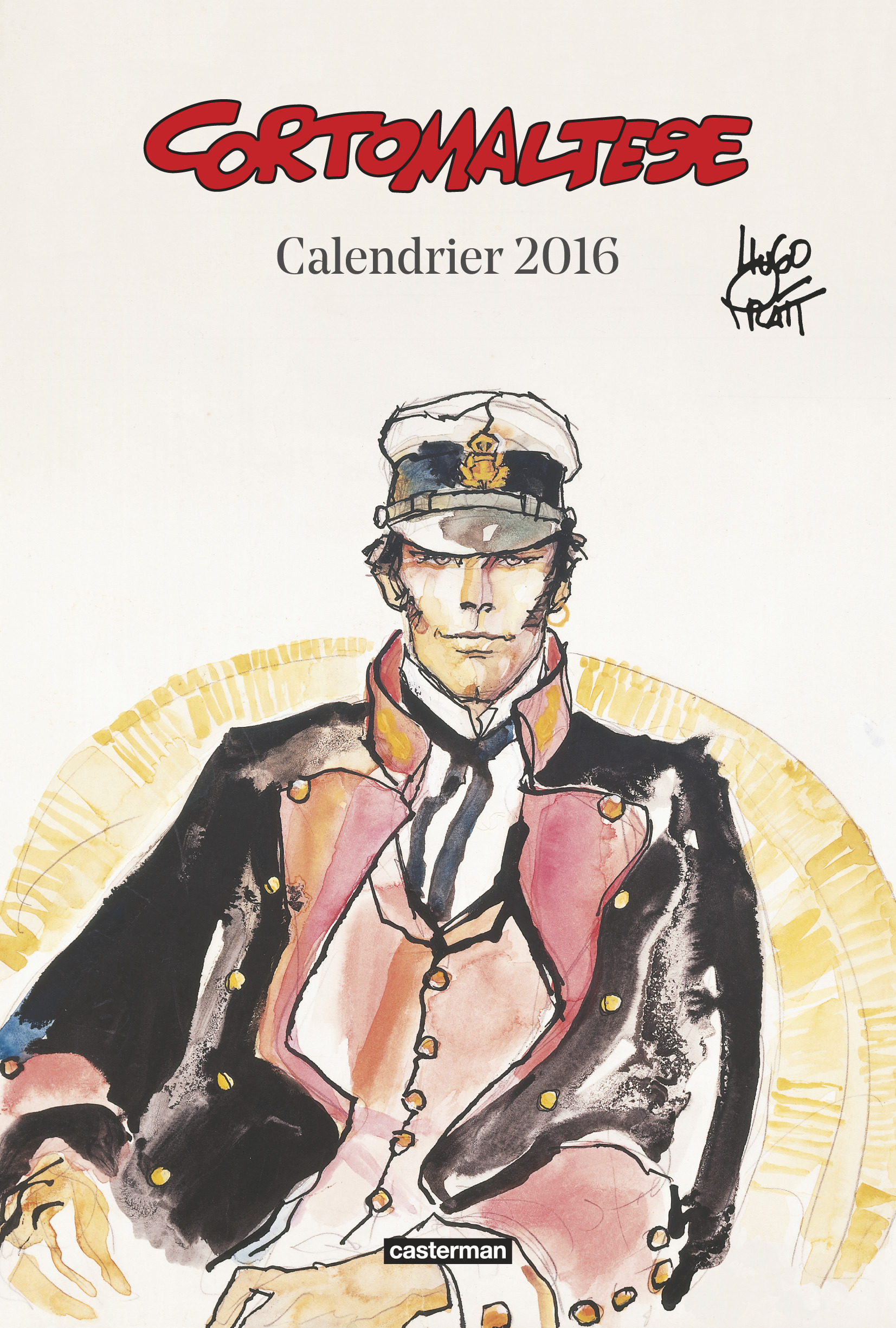 CALENDRIER CORTO MALTESE 2016