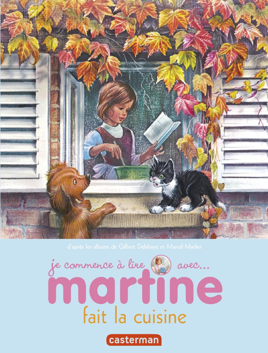 MARTINE FAIT LA CUISINE - JE COMMENCE A LIRE AVEC MARTINE - T54