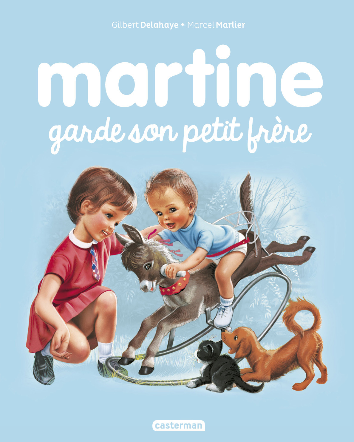JE COMMENCE A LIRE AVEC MARTINE - T29 - MARTINE GARDE SON PETIT FRERE
