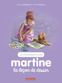 JE COMMENCE A LIRE AVEC MARTINE - T30 - MARTINE, LA LECON DE DESSIN