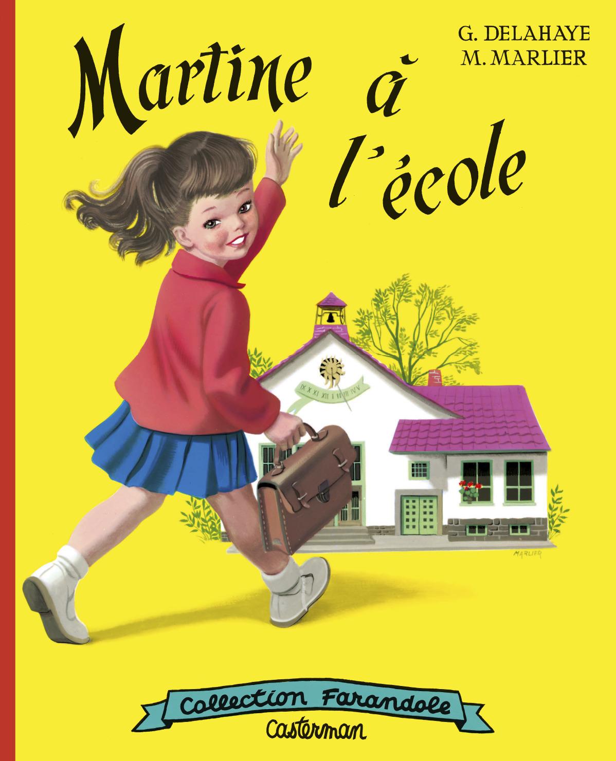MARTINE A L'ECOLE FAC SIMILE