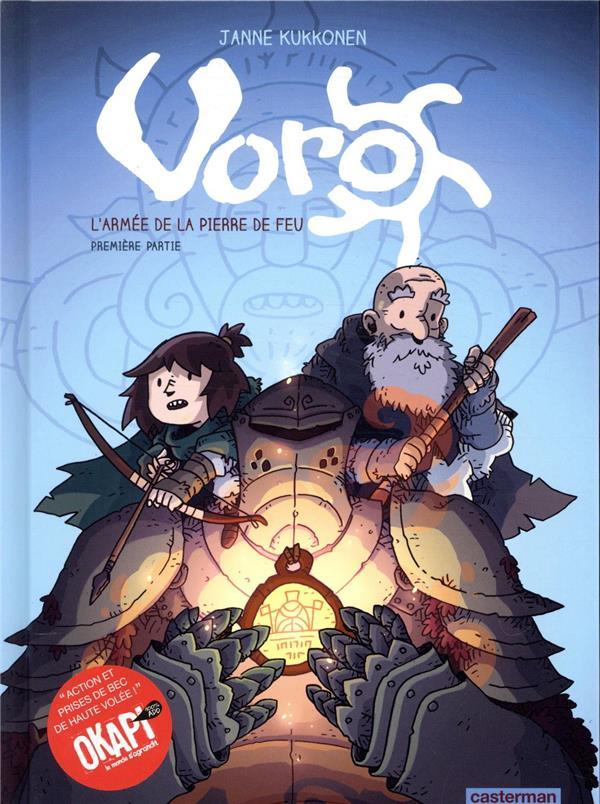 Voro, l'armee de la pierre de feu - t01 - cycle 2