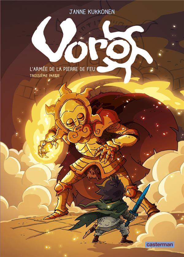 Voro, l'armee de la pierre de feu - t03 - cylce 2