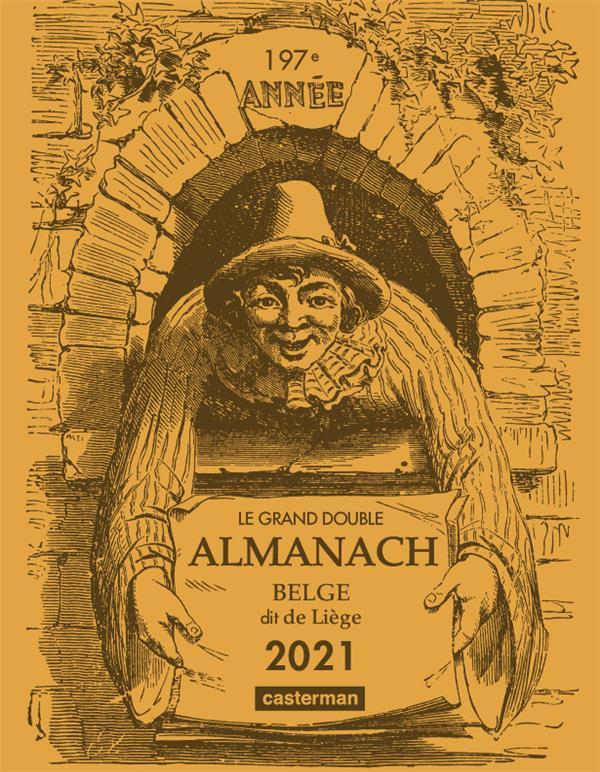 Le grand double almanach belge, dit de liege 2021