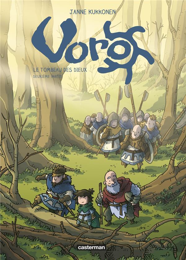 Voro, le tombeau des dieux - t02 - cycle 3