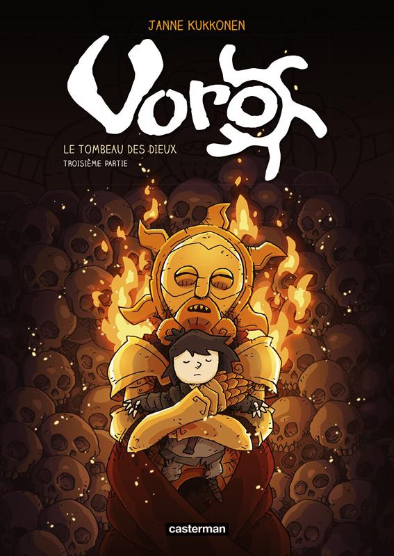 Voro, le tombeau des dieux - t03 - cycle 3