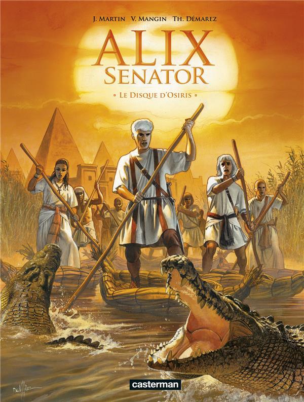 Alix senator - t12 - le disque d'osiris