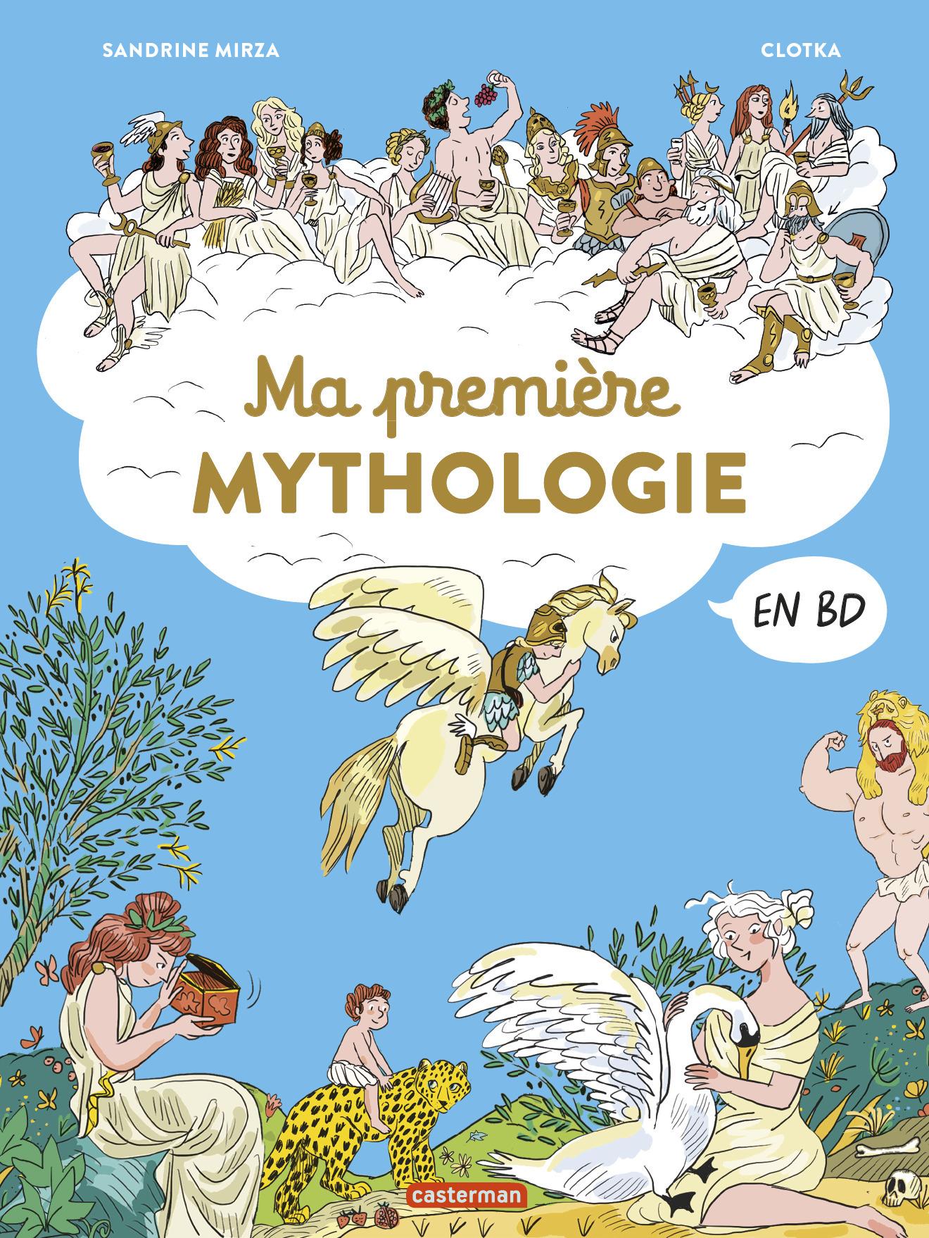 MA PREMIERE MYTHOLOGIE EN BD