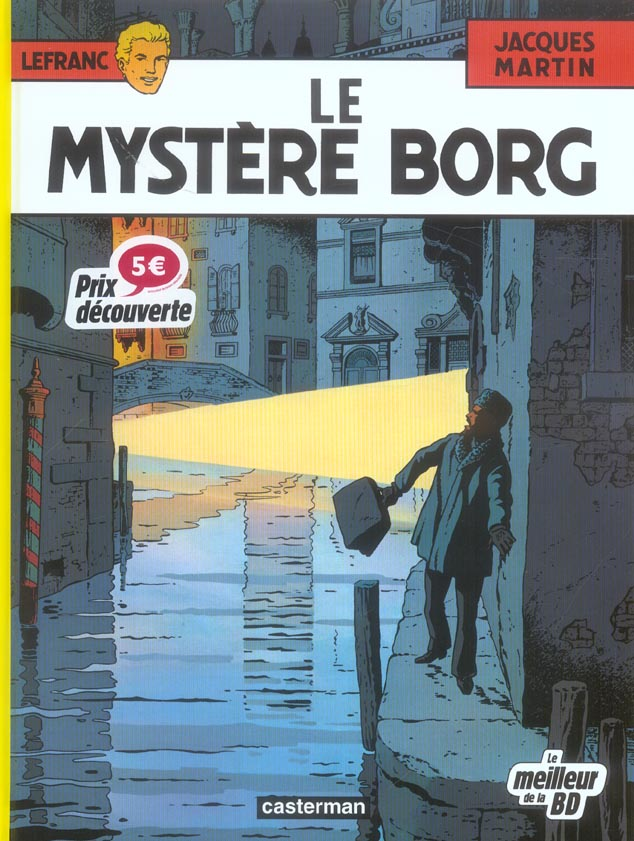 MYSTERE BORG FETE BD - LEFRANC T3