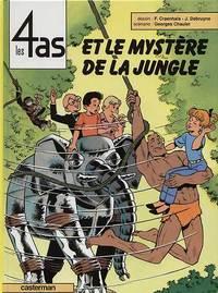 LES 4 AS - T29 - LES 4 AS ET LE MYSTERE DE LA JUNGLE