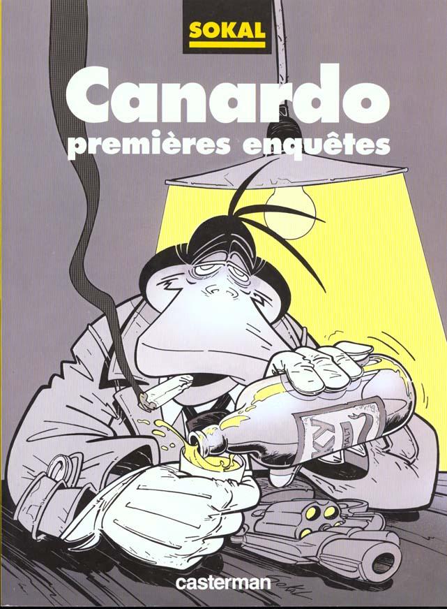 CANARDO PREMIERES ENQUETES (SOUPLE NOIR & BLANC)