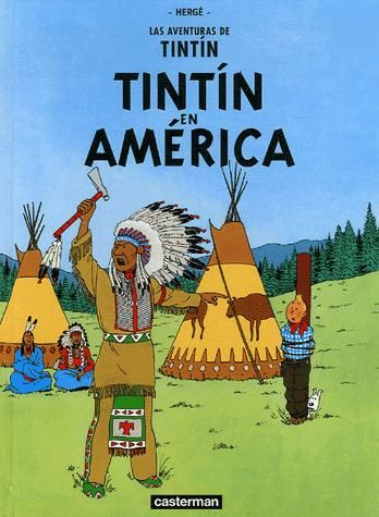 TINTIN EN AMERIQUE (ESPAGNOL)