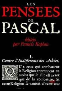 LES PENSEES DE PASCAL
