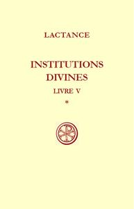 INSTITUTIONS DIVINES