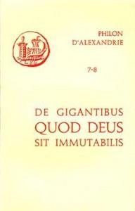 07-8. DE GIGANTIBUS. QUOD DEUS SIT IMMUTABILIS