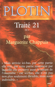 PLOTIN - TRAITE 21  IV,1