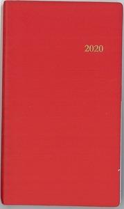 L'AGENDA DU CHRETIEN 2020. ROUGE