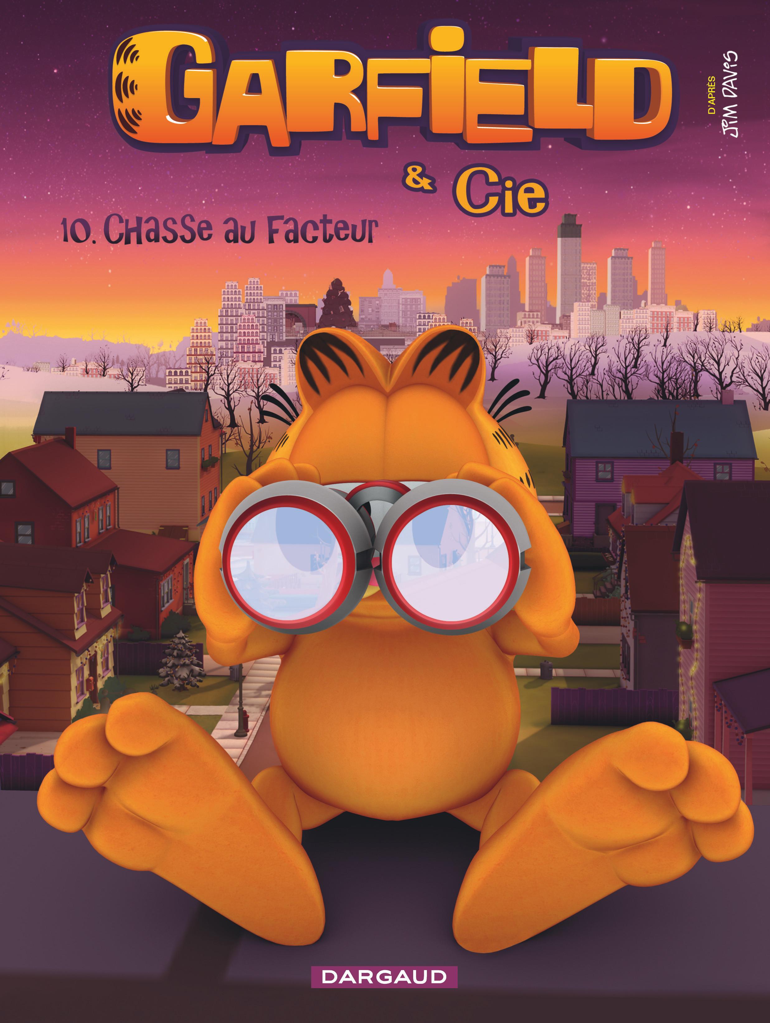 GARFIELD ET CIE - GARFIELD & CIE - TOME 10 - CHASSE AU FACTEUR (10)