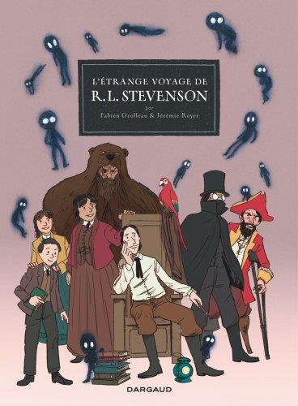 L'etrange voyage de r.l. steve - l'etrange voyage de r. l. stevenson