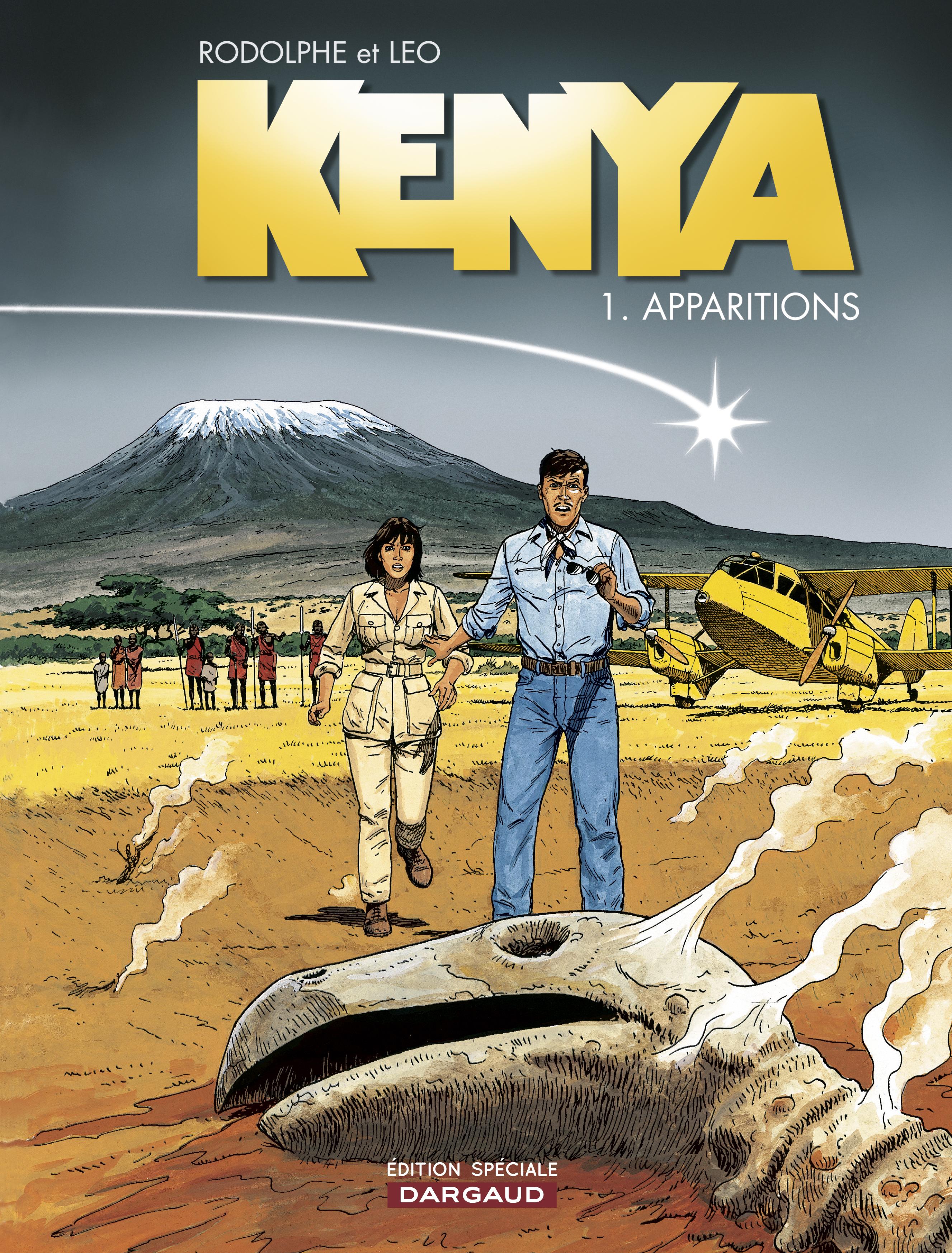 KENYA - TOME 1 - APPARITIONS (OP LEO)