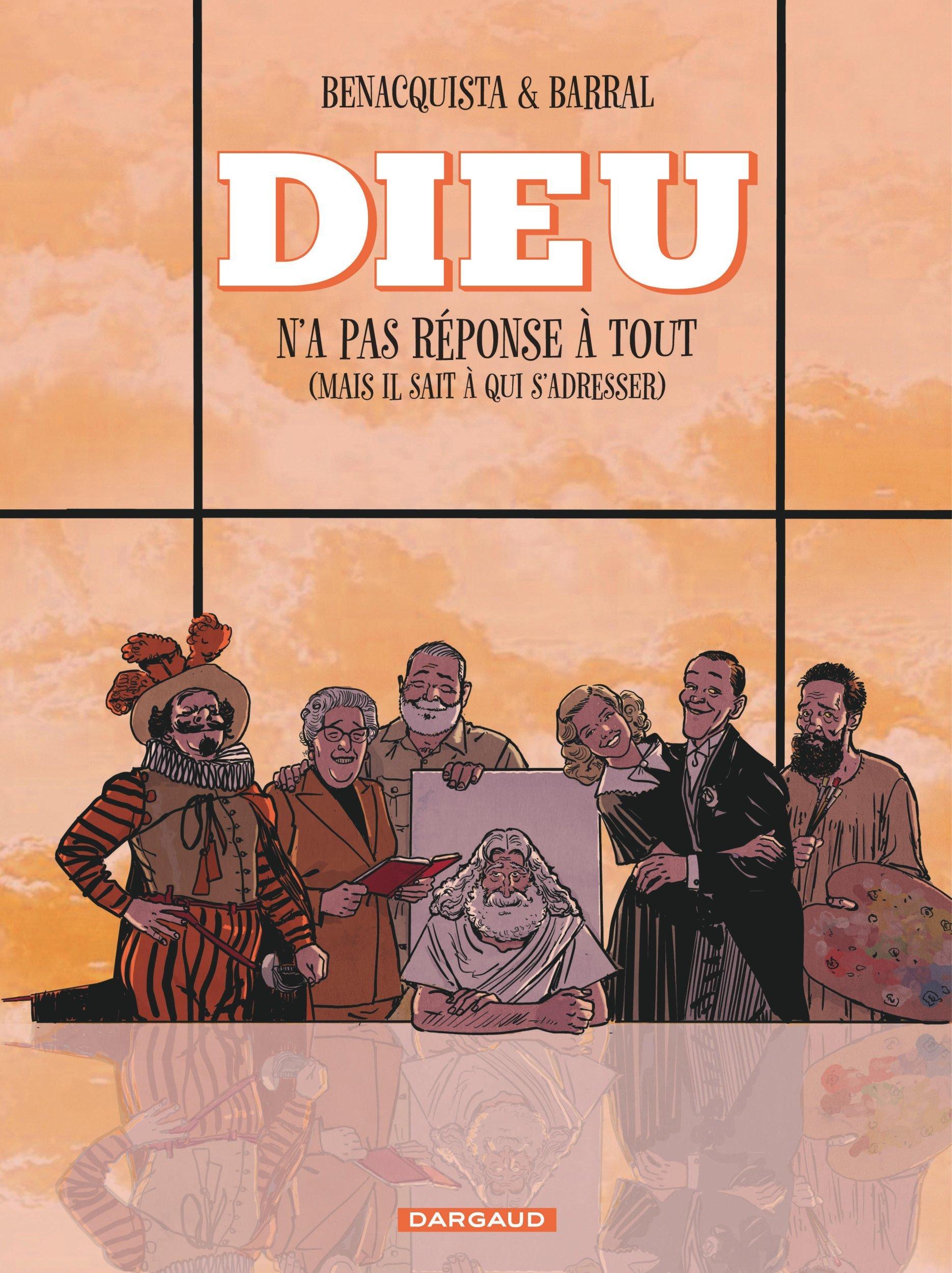 DIEU N'A PAS REPONSE A TOUT - TOME 2 / NOUVELLE EDITION, CHANGEMENT DE COUVERTURE