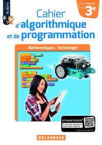 CAHIER D'ALGORITHMIQUE ET DE PROGRAMMATION 3E - ELEVE