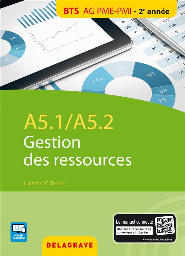 A5.1 - A5.2 GESTION DES RESSOURCES - ELEVE