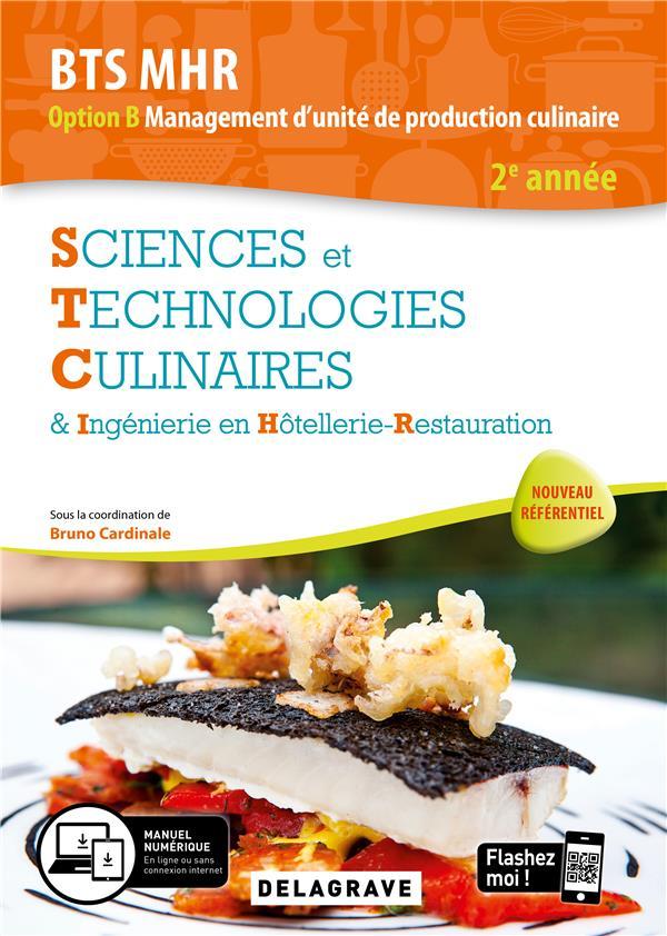 SCIENCES ET TECHNOLOGIES CULINAIRES (STC) 2E ANNEE BTS MHR 2020 - POCHETTE