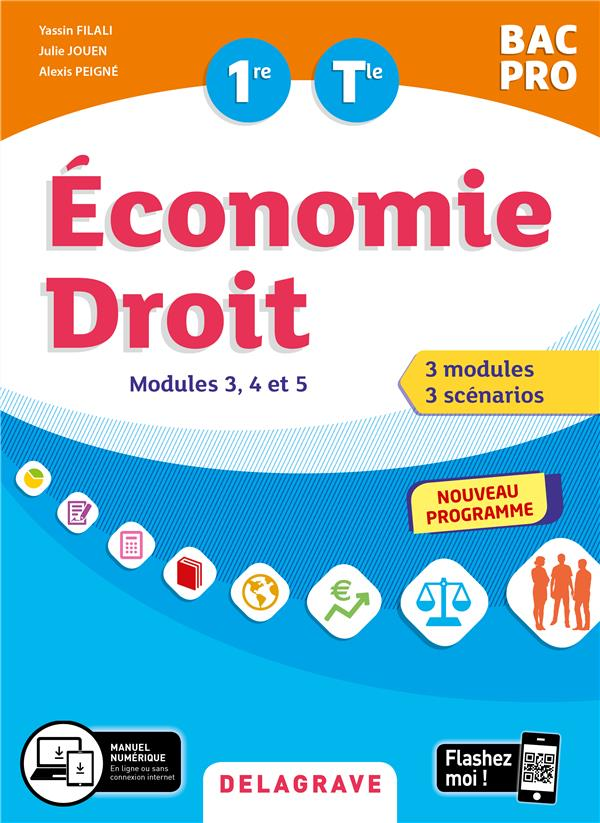 ECONOMIE DROIT 1RE TLE BAC PRO 2020 - MODULES 3,4 ET 5