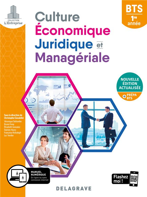 CULTURE ECONOMIQUE, JURIDIQUE ET MANAGERIALE (CEJM) 1RE ANNEE BTS 2020 -