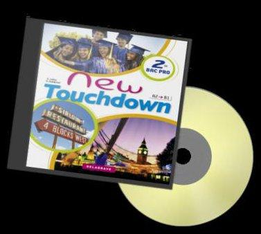 NEW TOUCHDOWN 2E - CD AUDIO CLASSE