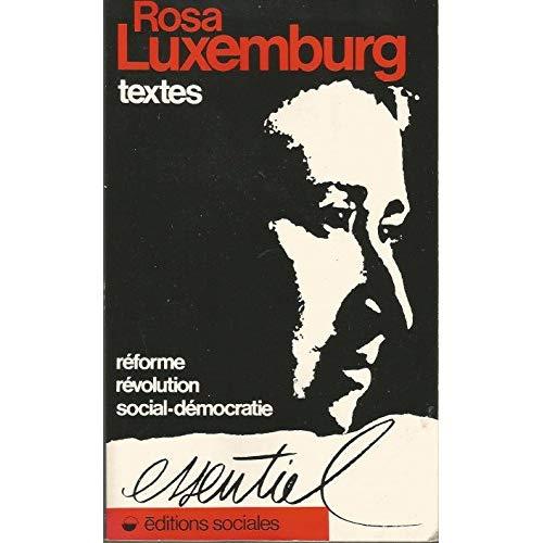 TEXTES REFORME, REVOLUTION, SOCIAL-DEMOCRATIE