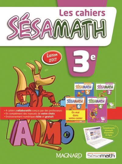 Sesamath 3e (2017) - cahier eleve