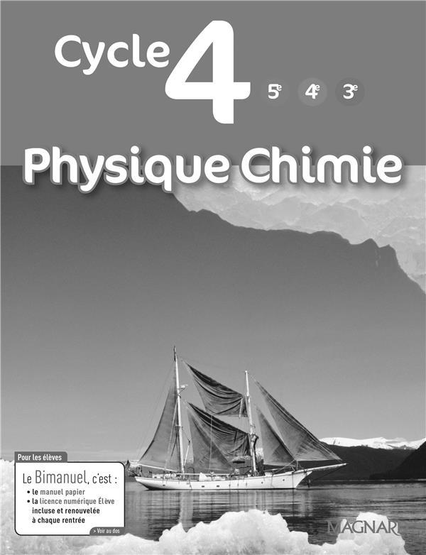 Physique chimie livre du professeur cycle 4